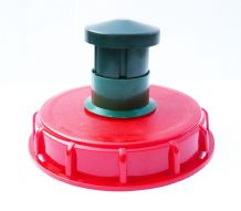 "IBC Storage Tank Topfill Cap (6"" Coarse Thread) with Chimney Vent"